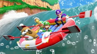 Super Mario Party - River Survival