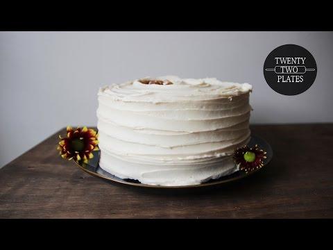 Caramel Apple Buttercream Cake | TwentyTwoPlates