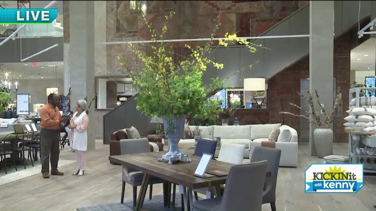New Arhaus Furniture Store In Legacy Village Youtube