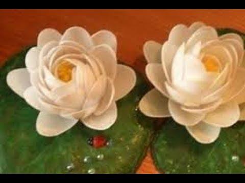 Kerajinan Bunga Tulip Cantik Dan Unik Dari Sendok Plastik Youtube