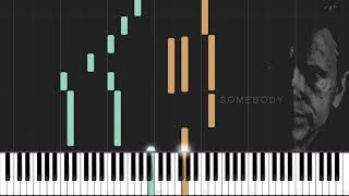 Depeche Mode Somebody Synthesia