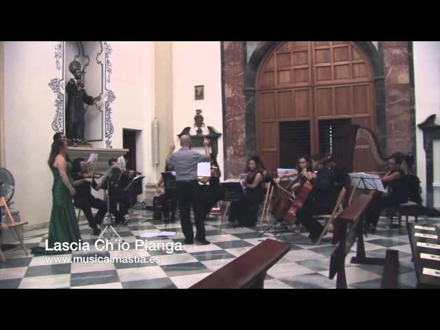 Lascia chio pianga Soprano bodas Madrid Salamanca Toledo Segovia Cuenca Ciudad Real Albacete