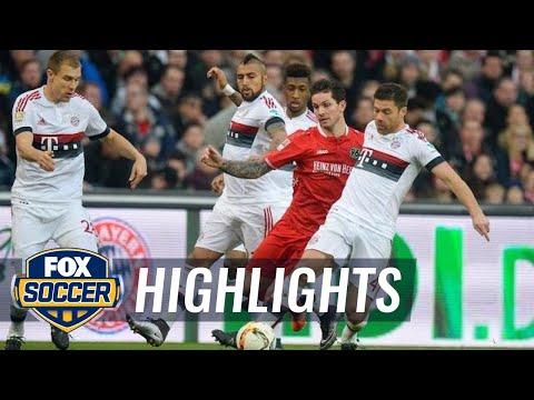 Hannover 96 vs. Bayern Munich | 2015–16 Bundesliga Highlights