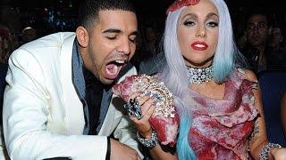 The Meat Dress - Lady Gaga 2015