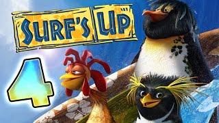 Surf's Up Walkthrough Part 4 ♒ (PS3, X360, Wii, PS2, GCN, PC) ♒ ∿∿∿∿