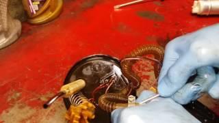 BMW E39 Замена насоса в баке (Replacing a pump in the tank)