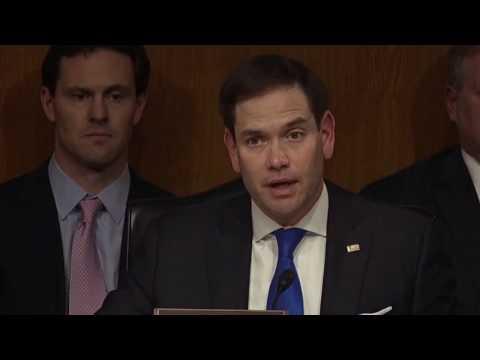 Senator Dan Coats Testifies at Director of National Intelligence Confirmation Hearing