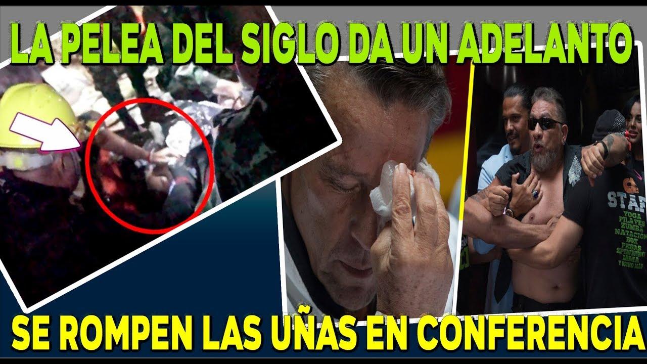 Alfredo Adame y Carlos Trejo ¡SE CALIENTAN EN CONFERENCIA!