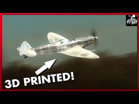 3d Printed Monster Spitfire | FLITE TEST