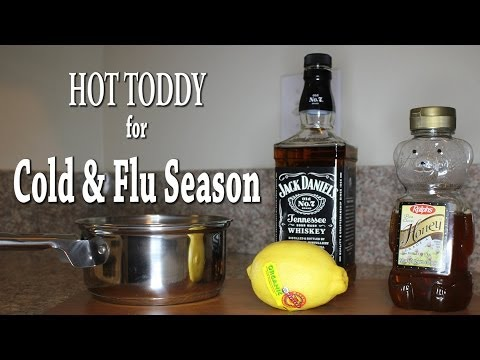 Not Feeling Well? Hot Toddy Recipe for Cold & Flu Season (Home Remedy)
