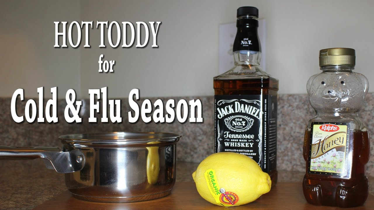 Hot Toddy Recipe for Cold & Flu Season (Home Remedy)