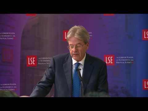 Gentiloni interviene alla London School of Economics and Political Science (con traduzione)
