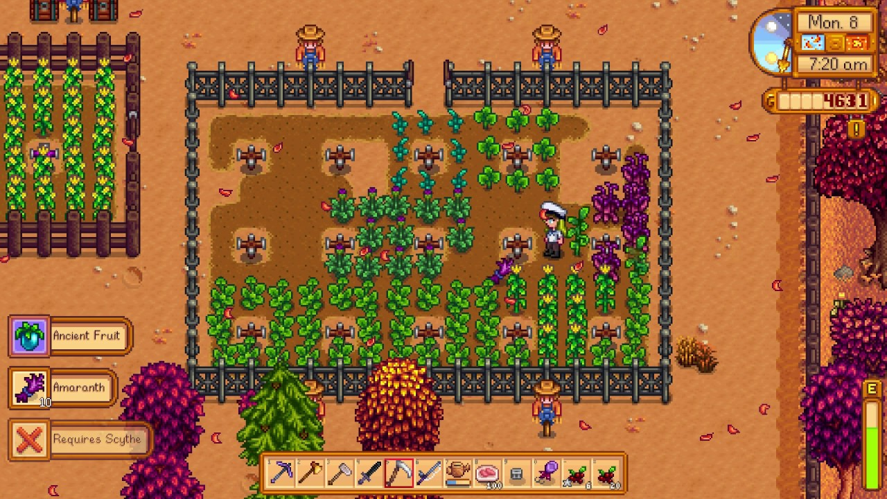 How to get Amaranth - Stardew Valley - YouTube