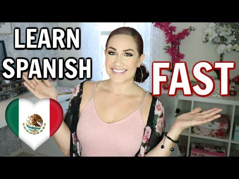 How to learn FLUENT Spanish in 3 Months | Learn Spanish QUICKLY & FLUENTLY! My Story!