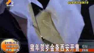 China Gold Bars Year of the Pig