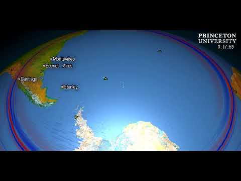 Magnitude 5.6 Quake, SOUTH SANDWICH ISLANDS REGION
