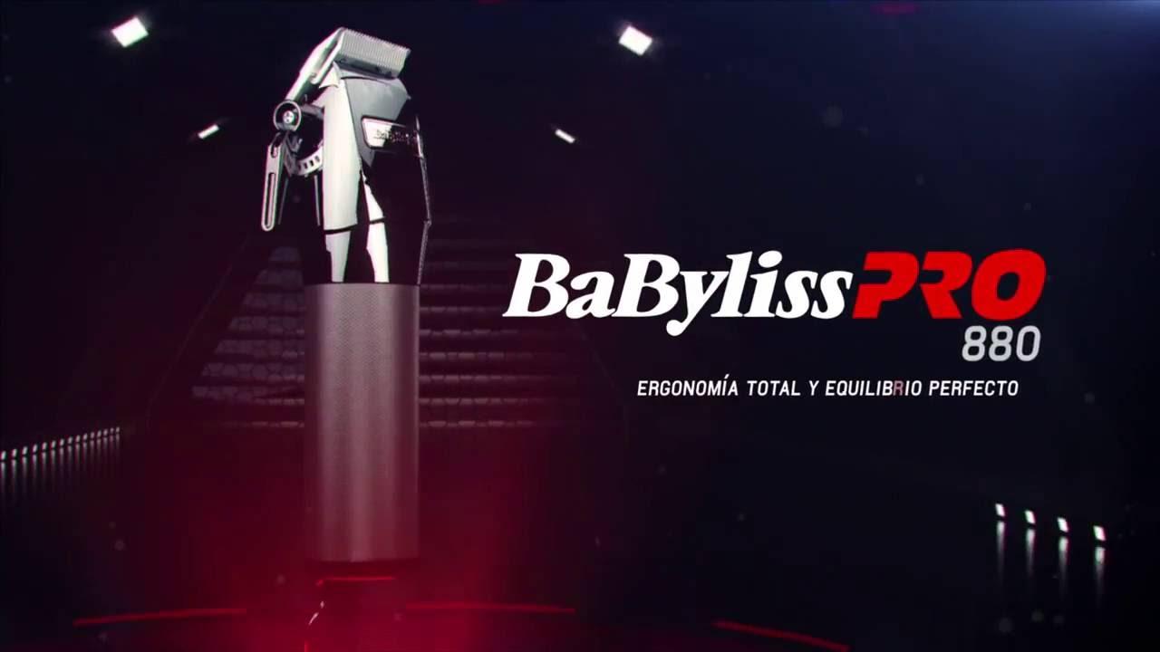 Maquina de Corte Super Fade X880 BabylissPRO con motor Ferrari - YouTube 783934bdcec9