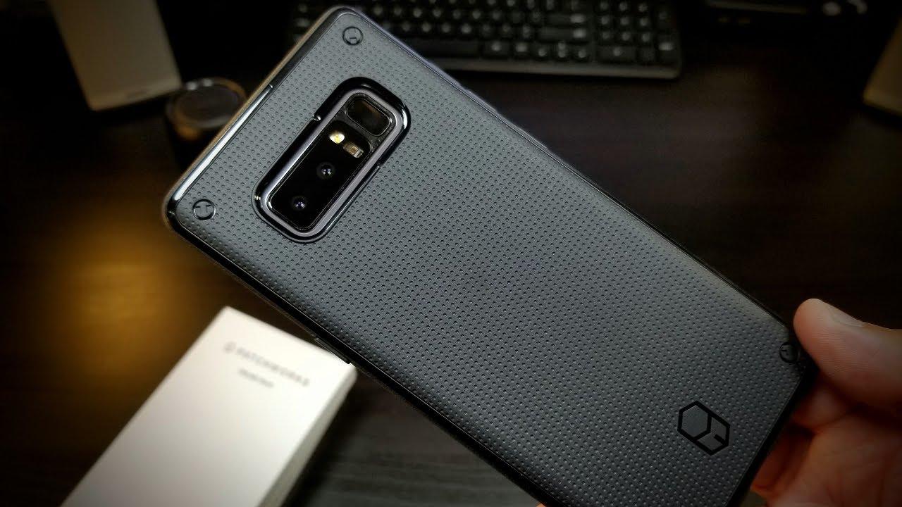 release date: a3c1e 66cb8 Samsung Note 8 PatchWorks FlexGuard TPU Case Extreme Black