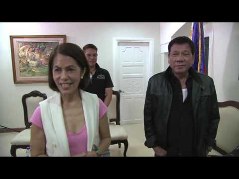 President-elect Duterte offers DENR Secretary post to Gina Lopez of the ABS-CBN Foundation