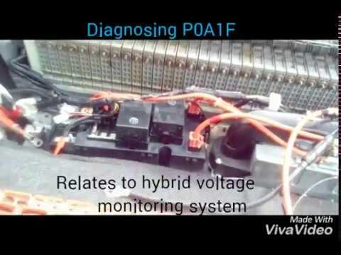 P0A1F Battery ENERGY CONTROL MODULE FAULT, RARE CASE STUDY