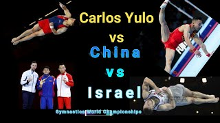 Carlos Yulo vs Israel vs China  Top 3 - FULL PERFORMANCE  Artistic Gymnastics Championship 2019