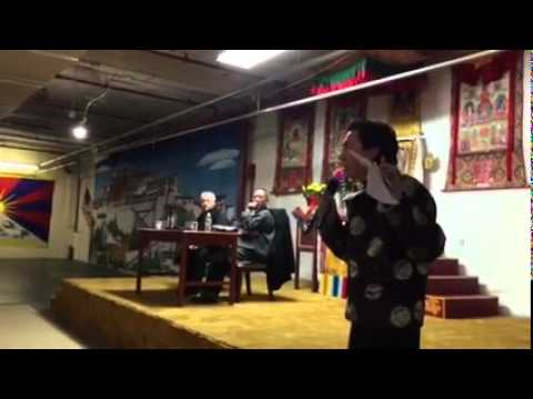 New York 10th March 2015 - Issue Part One - Clarification from Tibetan Association