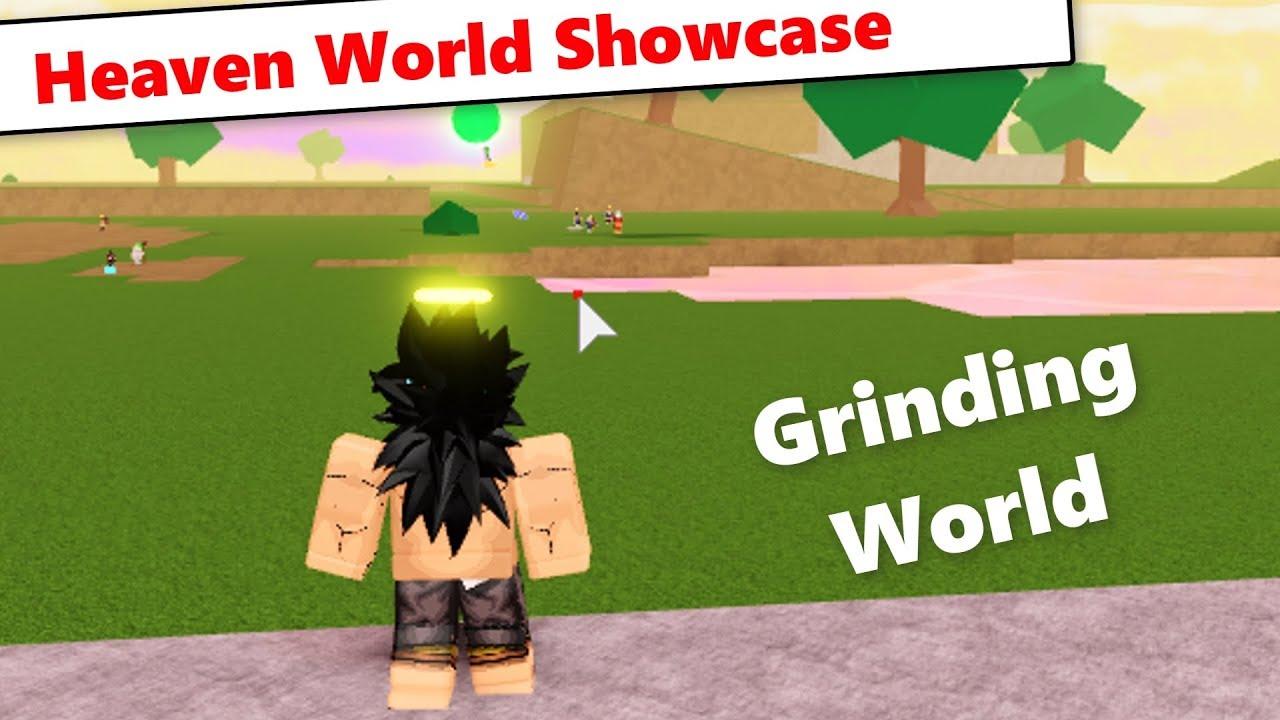 Heaven World Update Showcase | DBZ Final Stand