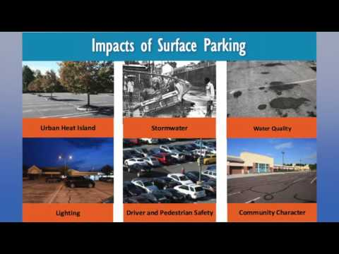 2016 Watershed Congress video Green Parking Lots