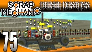 Scrap Mechanic Gameplay :EP75: ToteBot Music Blocks! Is that Nine Inch Nails?! (Let