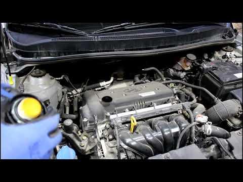 Как менять масло в двигателе хендай солярис