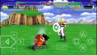 Test Dragonball z shin budikai 2 god edition