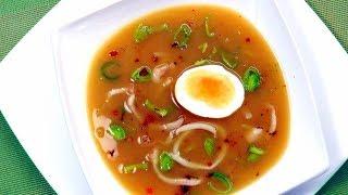 Диетический крем-суп с кальмарами и пореем | Diet Cream Soup