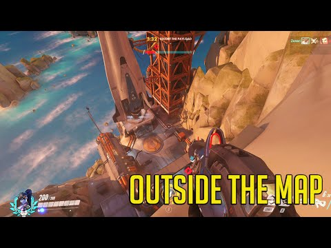 Overwatch: Out Of The Map! Gibralter Escape, Hammertime
