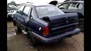 Junkyard Find: 1991 Pontiac LeMans LE