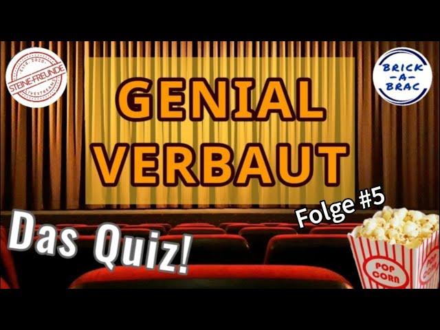 GENIAL VERBAUT - Das Quiz! // Folge #5