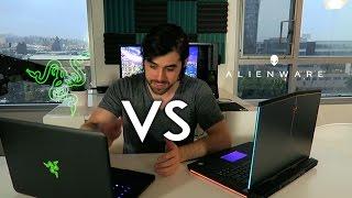 Alienware 15 R3 vs Razer Blade – GTX 1060 – Pascal Laptop Comparison