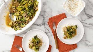 Broccoli and Pork Stir-Fry- Martha Stewart