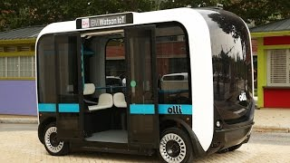 Olli, A Driverless Electric Bus Powered By IBM Watson