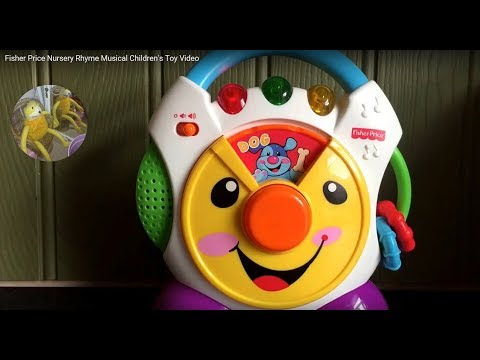 Fisher Price Nursery Rhyme Musical Children's Toy Video