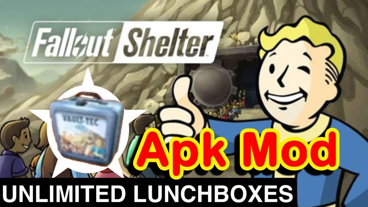 fallout shelter mod apk unlimited everything android