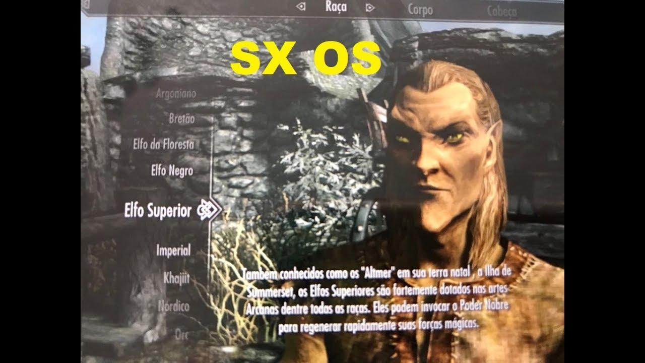 Legenda Exclusiva PortuguêsBR The Elder Scrolls V Skyrim para Desbloqueio  SX OS para Nintendo Switch
