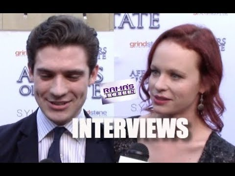 My s with Eric Bross, David Corenswet, & Thora Birch at 'AFFAIRS OF STATE' Premiere