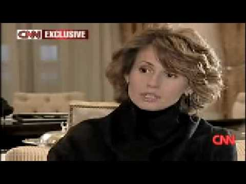 Syria's first lady on Gaza