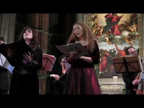 3/4 Dissera-Geretto Stabat Mater G.B. Pergolesi Duetti XI. XII. - Frari Live Venezia 2012 HD 720p
