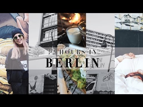 72 HOURS IN BERLIN TRAVEL VLOG || STYLE LOBSTER