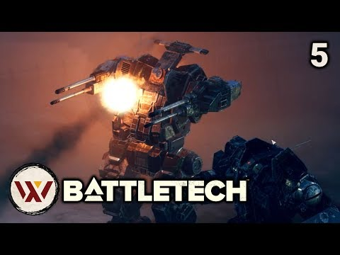 First Strike (Spoilers) - #5 BATTLETECH Let's Play Campaign Gameplay