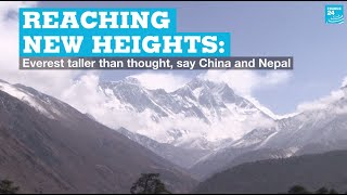 Reaching new heights: Everest taller than thought, say China and Nepal