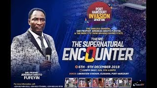 """SUPERNATURAL ENCOUNTER"" PORT HARCOURT CRUSADE DAY 3"