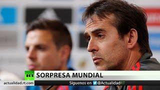 Bombas mundiales: Destitución del entrenador de España y sedes del Mundial 2026