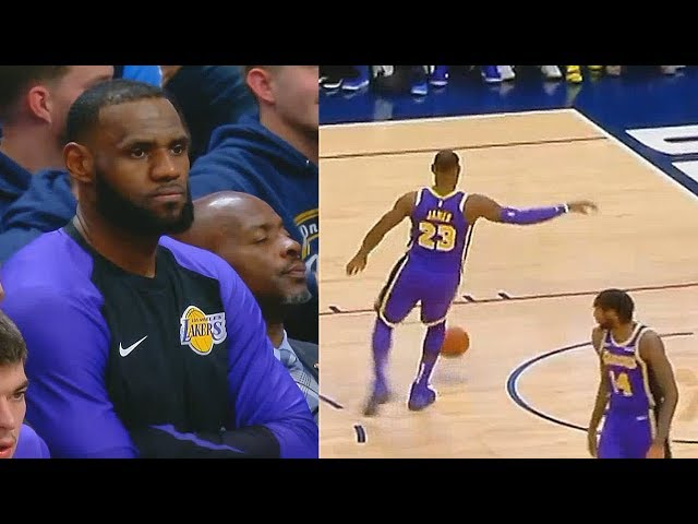 LeBron James Gets TIRED Of Lakers Being TERRIBLE! Lakers vs Nuggets (32 Point Loss)